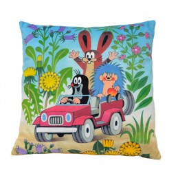 Pillow 30x30 cm Jeep and friends