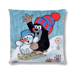 Pillow 30x30 cm, Snowman
