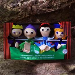 Snow White, set of marionettes