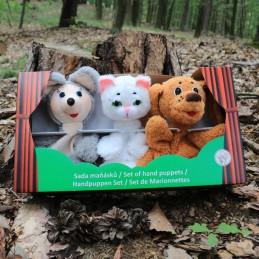 Animals, set of marionettes