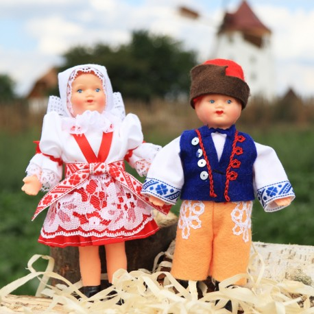 The Bartered Bride couple, 15 cm