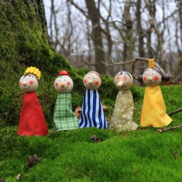 Finger puppets, fairytale