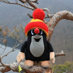 The Little Mole, bobble hat, 35 cm