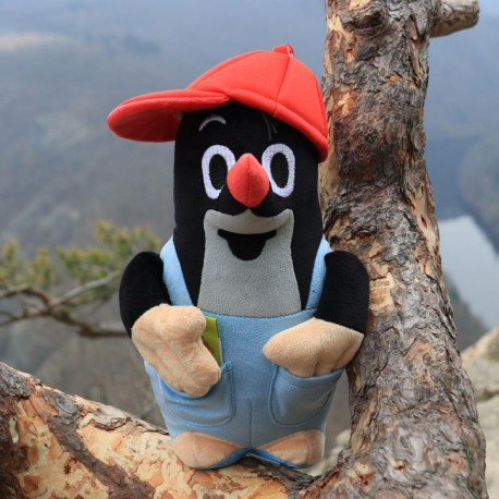 The Little Mole in pants and cap, 26 cm