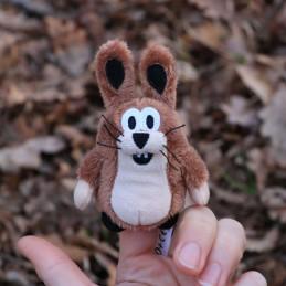 Hare, finger puppet, 10 cm