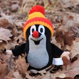 The Little Mole with bobble cap, 15 cm