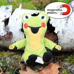 Frog, magnetic, 12 cm