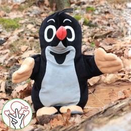 The Little Mole, hand puppet, 27 cm
