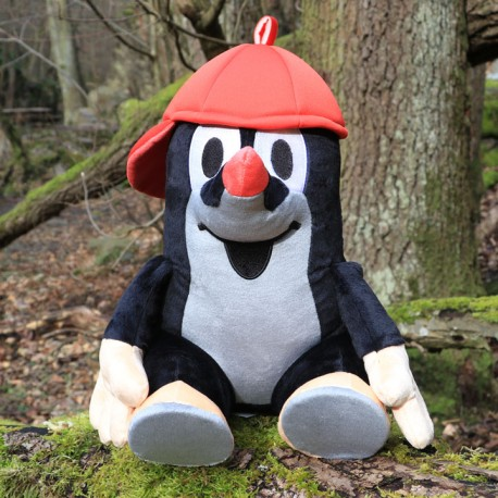 The Little Mole with cap, sitting, 31 cm
