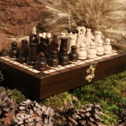 Chess, brown