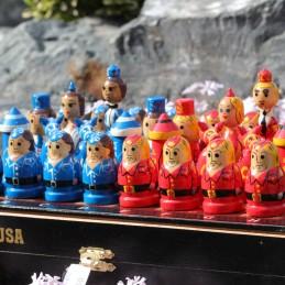 Šachy USSR  vs USA