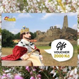 Gift voucher, 2000 czk