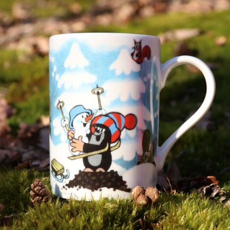 Cup The Little Mole, snowman