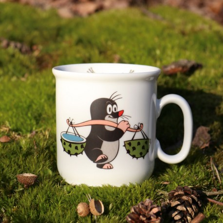 Cup The Little Mole, chestnut
