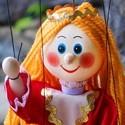 Wooden marionettes 20 cm